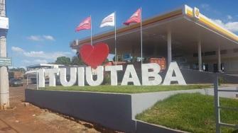16 de Setembro – Letreiro da cidade — Ituiutaba (MG) — 116 Anos em 2017.