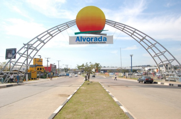 17 de Setembro – Entrada da cidade — Alvorada (RS) — 52 Anos em 2017.