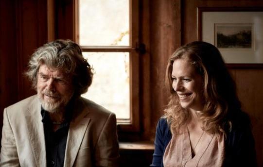 17 de Setembro – Reinhold Messner - 1944 – 73 Anos em 2017 - Acontecimentos do Dia - Foto 15 - Reinhold Messner com a filha, Magdalena Messner.