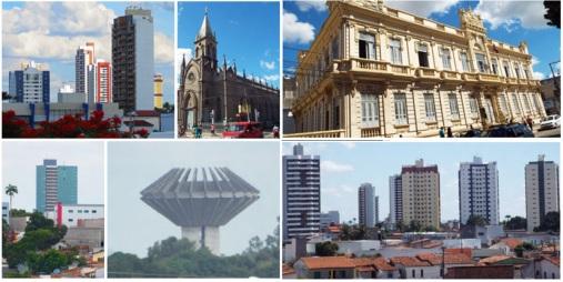 18 de Setembro – Fotomontagem com pontos turísticos da cidade — Feira de Santana (BA) — 184 Anos em 2017.