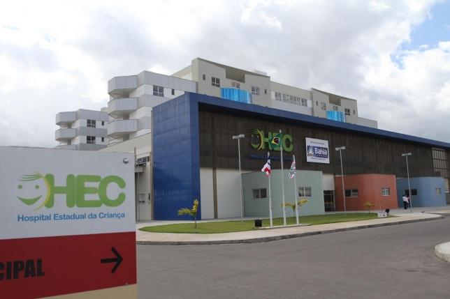 18 de Setembro – Hospital Estadual da Criança, um dos maiores Hospitais pediátricos do Brasil — Feira de Santana (BA) — 184 Anos em 2017.