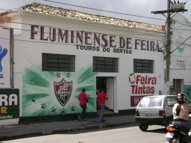 18 de Setembro – Sede do Fluminense de Feira, o clube local mais popular da cidade — Feira de Santana (BA) — 184 Anos em 2017.