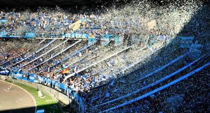 19 de Setembro – 1954 — O Estádio Olímpico Monumental de propriedade do Grêmio Foot-Ball Porto Alegrense é inaugurado.