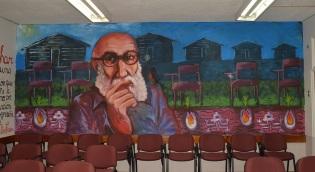19 de Setembro – Paulo Freire - 1921 – 96 Anos em 2017 - Acontecimentos do Dia - Foto 20 - Mural de Paulo Freire na Faculdade de Educação e Humanidades da Universidade do Bío-Bío