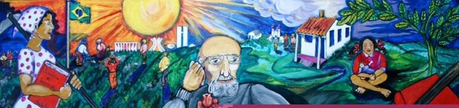 19 de Setembro – Paulo Freire - 1921 – 96 Anos em 2017 - Acontecimentos do Dia - Foto 4 - Painel no CEFORTEPE da Secretaria Municipal de Educação de Campinas.