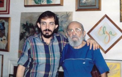 19 de Setembro – Paulo Freire - 1921 – 96 Anos em 2017 - Acontecimentos do Dia - Foto16 - Sérgio Guimarães e Paulo Freire.