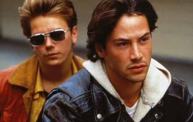 2 de Setembro – Keanu Reeves - 1964 – 53 Anos em 2017 - Acontecimentos do Dia - Foto 19 - River Phoenix e Keanu Reeves.