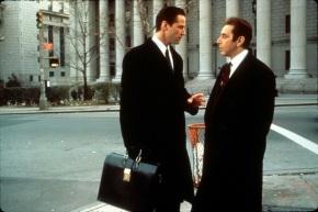 2 de Setembro – Keanu Reeves - 1964 – 53 Anos em 2017 - Acontecimentos do Dia - Foto 22 - Keanu Reeves e Al Pacino, em 'Advogado do Diabo'.