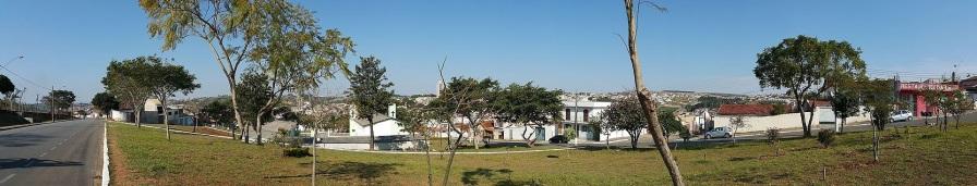 20 de Setembro – Vista panorâmica da cidade — Itapeva (SP) — 248 Anos em 2017.