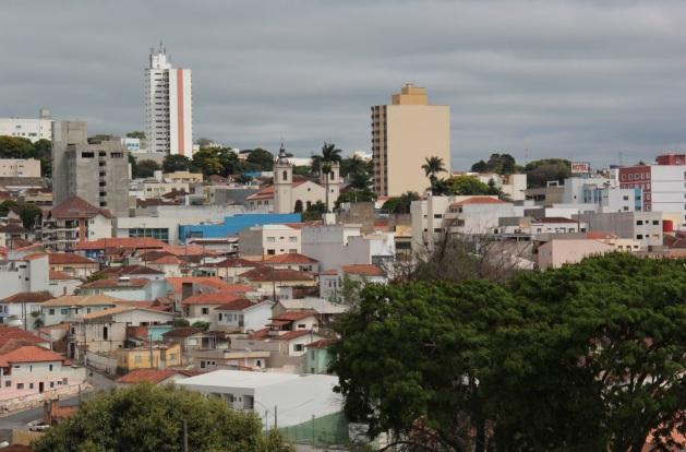 20 de Setembro – Vista parcial da cidade — Itapeva (SP) — 248 Anos em 2017.