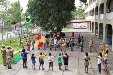 22 de Setembro – Escoteiros da cidade — São Gonçalo (RJ) — 127 Anos em 2017.