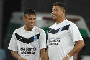 22 de Setembro – Ronaldo Nazário - Fenômeno - 1976 – 41 Anos em 2017 - Acontecimentos do Dia - Foto 20 - Neymar e Ronaldo.