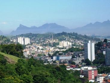 22 de Setembro – Vista panorâmica da cidade — São Gonçalo (RJ) — 127 Anos em 2017.