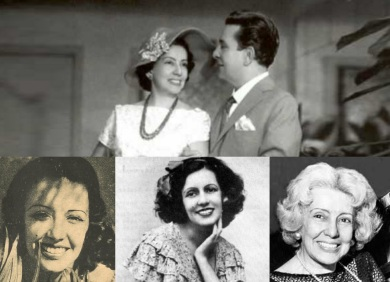 23 de Setembro – 1904 - Gilda de Abreu, atriz e diretora brasileira (m. 1979) - Em destaque, Gilda contracena com Vicente Celestino.