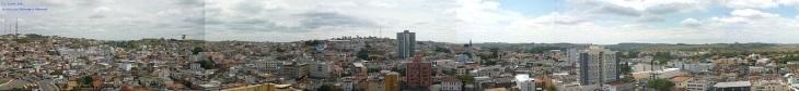 23 de Setembro – Vista panorâmica da cidade do Edifício Moema — Três Corações (MG) — 133 Anos em 2017.