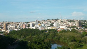 23 de Setembro – Vista panorâmica da cidade — Três Corações (MG) — 133 Anos em 2017.