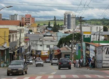 23 de Setembro – Vista parcial da cidade — Três Corações (MG) — 133 Anos em 2017.