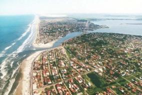 24 de Setembro – Foto aérea da cidade — Tramandaí (RS) — 52 Anos em 2017.
