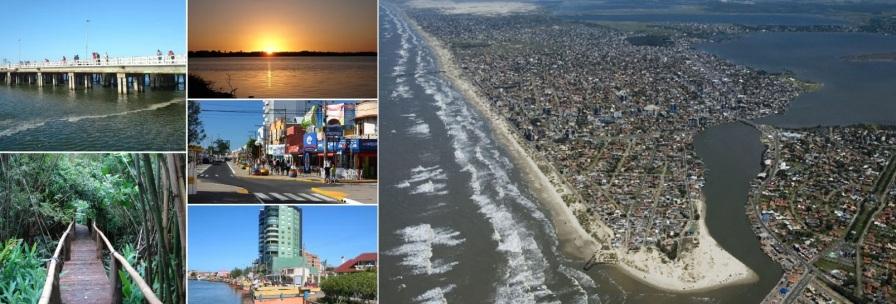 24 de Setembro – Fotomontagem com pontos turísticos da cidade — Tramandaí (RS) — 52 Anos em 2017.