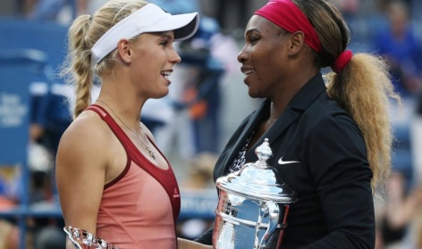 26 de Setembro – Serena Williams - 1981 – 35 Anos em 2017 - Acontecimentos do Dia - Foto 6 - Caroline Wozniacki e Serena Williams.