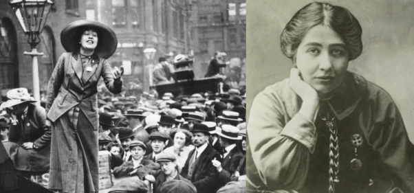 27 de Setembro – 1960 — Sylvia Pankhurst, militante britânica (n.1882).
