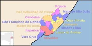 28 de Setembro – Camaçari e os outros municípios da região metropolitana — Camaçari (BA) — 259 Anos em 2017.