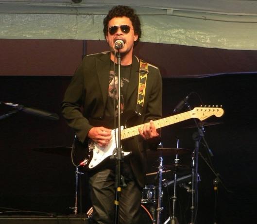 28 de Setembro – Tim Maia - 1942 – 75 Anos em 2017 - Acontecimentos do Dia - Foto 24 - Léo Maia, filho adotivo de Tim, também se tornou músico.