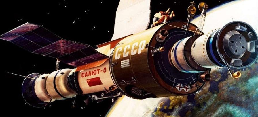 29 de Setembro – 1977 – União Soviética lança estação espacial Salyut 6.