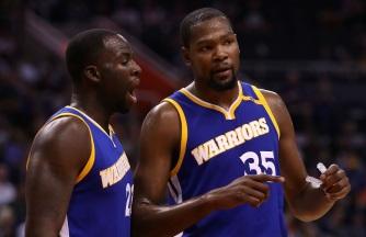 29 de Setembro – Kevin Durant - 1988 – 29 Anos em 2017 - Acontecimentos do Dia - Foto 14 - Draymond Green e Kevin Durant - Golden State Warriors.