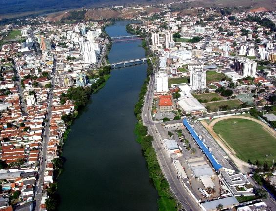 29 de Setembro – Vista aérea da cidade — Resende (RJ) — 216 Anos em 2017.