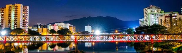 29 de Setembro – Vista noturna da cidade — Resende (RJ) — 216 Anos em 2017.