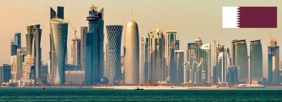 3 de Setembro – 1971 – Independência do Qatar, sobre domínio do Reino Unido. Foto de Doha, capital do Qatar.