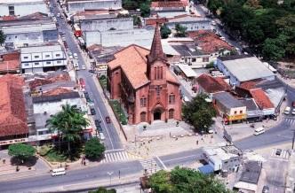 4 de Setembro – Foto aérea da cidade — Paulista (PE) — 82 Anos em 2017.