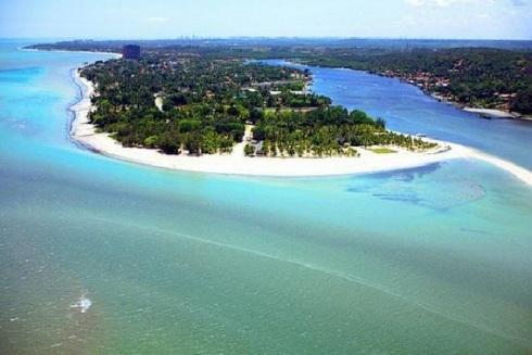 4 de Setembro – Foto aérea da costa — Paulista (PE) — 82 Anos em 2017.