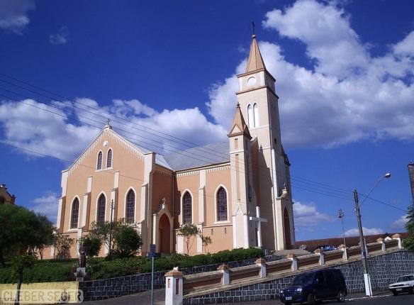 5 de Setembro – Igreja Nossa Senhora das Vitórias — Porto União (SC) — 100 Anos em 2017.