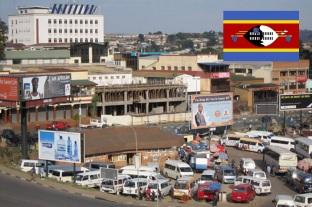 6 de Setembro – 1968 – A Suazilândia torna-se independente. Foto de Mbabane, capital de Suazilândia.