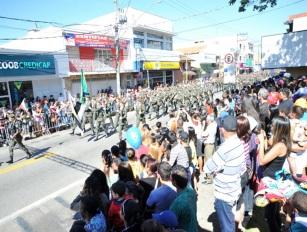 6 de Setembro – Desfile cívico no aniversário da cidade — Boituva (SP) — 80 Anos em 2017.