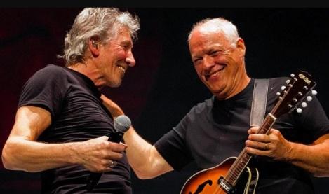 6 de Setembro – Roger Waters - 1943 – 74 Anos em 2017 - Acontecimentos do Dia - Foto 11 - Roger Waters e David Gilmour.