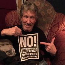 6 de Setembro – Roger Waters - 1943 – 74 Anos em 2017 - Acontecimentos do Dia - Foto 20 - Campanha contra Donald Trump e o fascismo que ele representa.