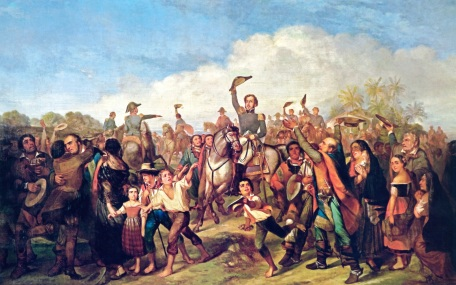 7 de Setembro – 1822 – É declarada a Independência do Brasil em relação ao domínio de Portugal.