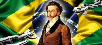 7 de Setembro – 1822 – Dom Pedro I, o Príncipe Regente é saudado em São Paulo como o primeiro Imperador do Brasil e executa o Hino da Independência.