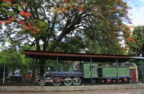 7 de Setembro – Locomotiva da Praça Tiradentes — Teófilo Otoni (MG) — 164 Anos em 2017.