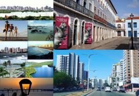8 de Setembro – Fotomontagem com pontos turísticos da cidade — São Luís (MA) — 405 Anos em 2017.