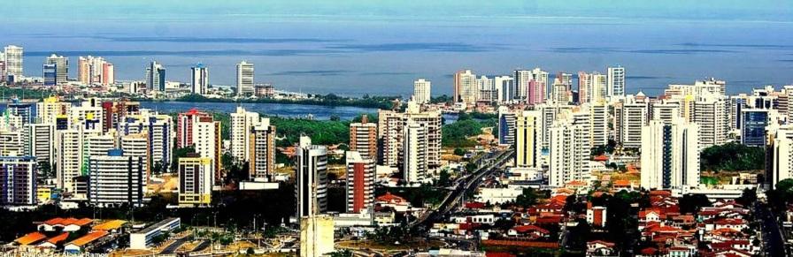 8 de Setembro – Imagem aérea da cidade — São Luís (MA) — 405 Anos em 2017.