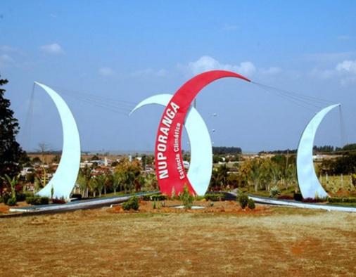 9 de Setembro – Letreiro da cidade — Nuporanga (SP) — 156 Anos em 2017.