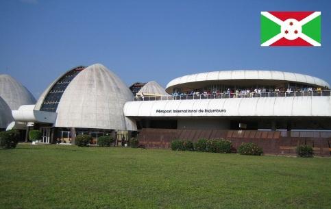 Cidade de Bujumbura, capital de Burundi.