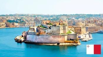 Cidade de Valeta, capital de Malta.