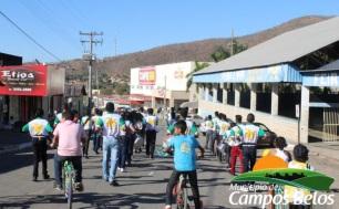 1 de Outubro - Desfile — Campos Belos (GO)— 63 Anos em 2017.