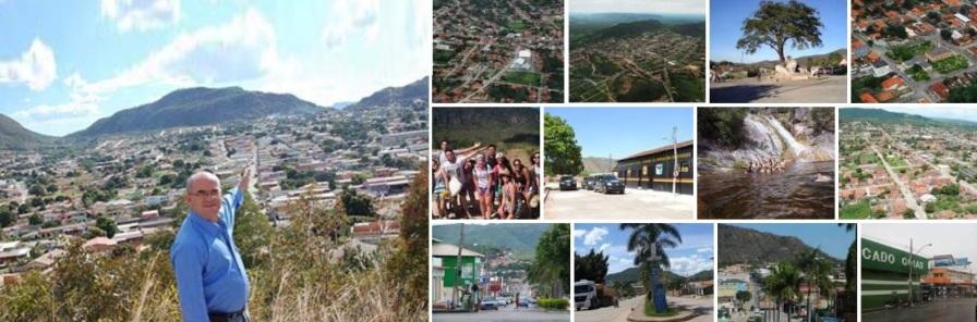 1 de Outubro - Fotomontagem com pontos turísticos da cidade — Campos Belos (GO)— 63 Anos em 2017.