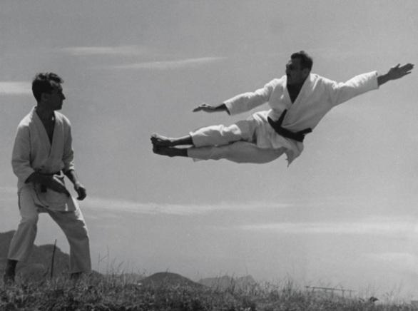 1 de Outubro - Hélio Gracie - 1913 – 104 Anos em 2017 - Acontecimentos do Dia - Foto 11 - Carlos e Hélio Gracie.